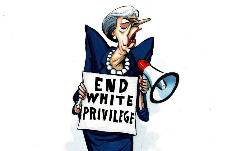 Theresa May S Phoney Race War Is Dangerous And Divisive The Spectator