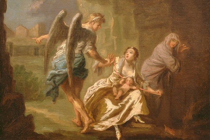 'The Angel of Mercy', c.1746, by Joseph Highmore