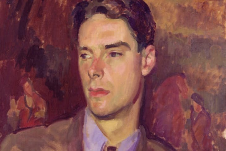Anthony Powell, by Henry Lamb (1934)