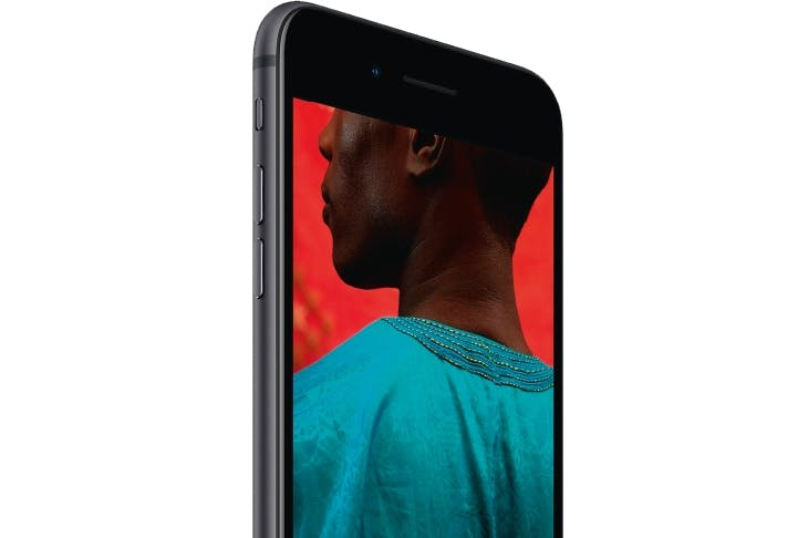 iPhone 8 Plus, unveiled last week at the new Steve Jobs Theater at Apple Headquarters, Cupertino, California. The new features include a Retina HD display, A11 Bionic Chip and wireless charging