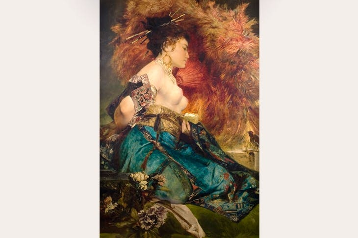 'The Japanese' by Hans Makart, 1870–75