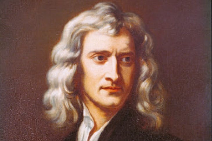 Sir Isaac Newton, by Godfrey Kneller (1646–1723): Newton was a secret, though fierce critic of the 'Holy' Trinity