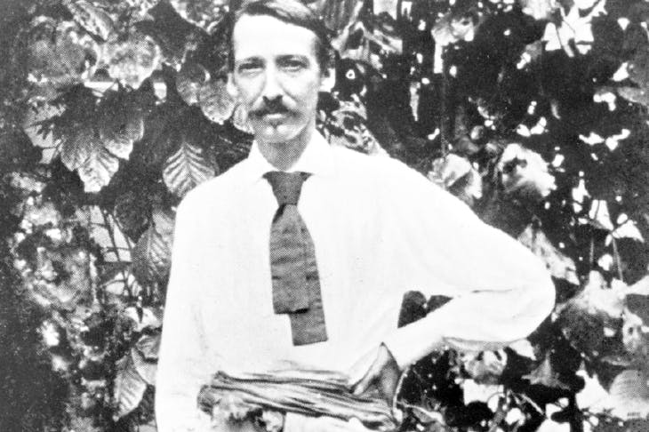 Robert Louis Stevenson, photographed in Samoa shortly before his death
