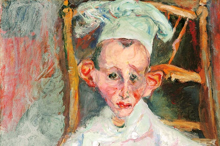 'Pastry Cook of Cagnes', 1922, by Chaïm Soutine