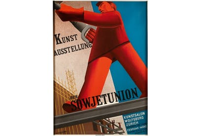 'Soviet Union Art Exhibition', Zurich 1931, by Valentina Kulagina