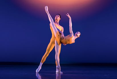 Tyrone Singleton and Jenna Roberts in MacMillan's Concerto