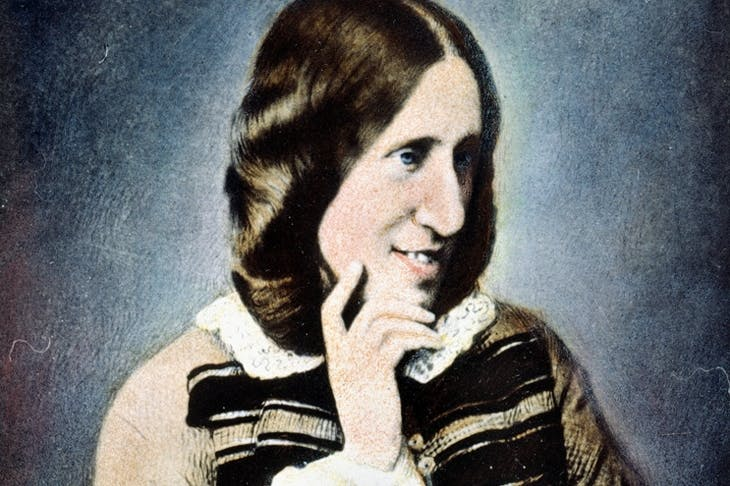 George Eliot, photographed in 1858