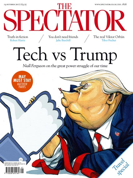 Issue: 14 October 2017 | The Spectator