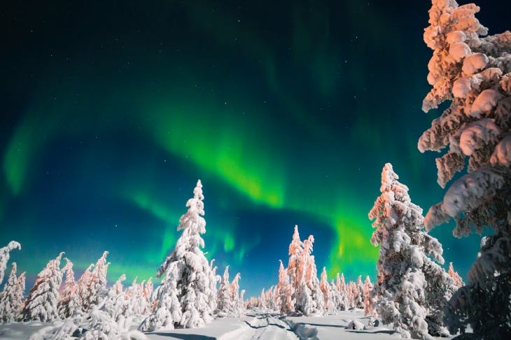 The otherworldly Northern Lights