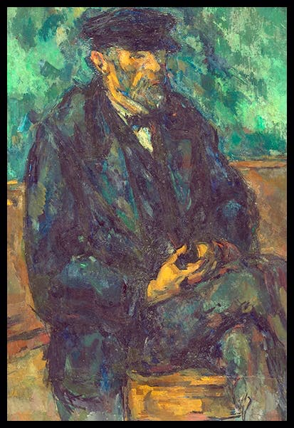 'The Gardener Vallier', 1902–6, by Paul Cézanne