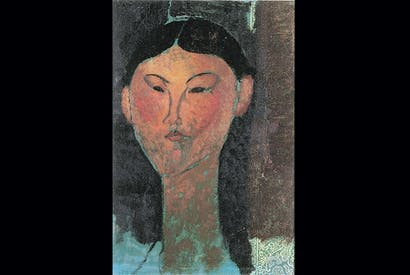 'Beatrice Hastings', 1915, by Amedeo Modigliani
