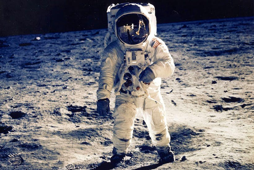 who will be the first woman on the moon the spectator