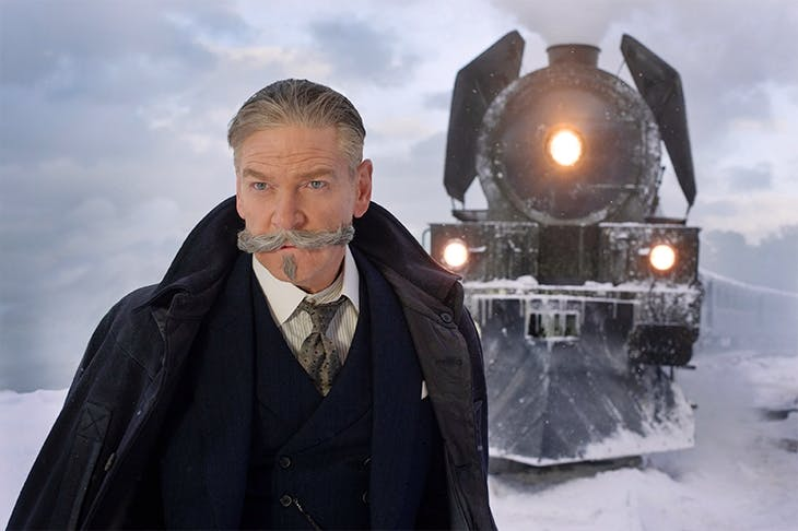 Kenneth Branagh as Hercule Poirot