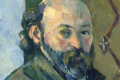 'Self-Portrait', 1880–1, by Paul Cézanne