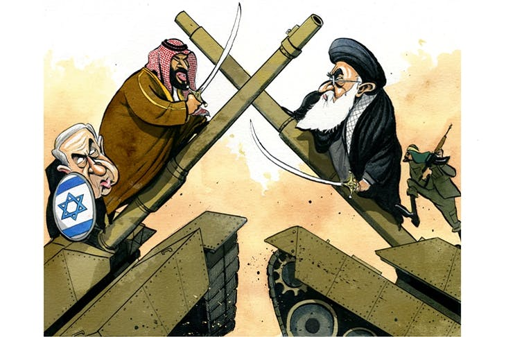 Saudi Arabia has united with Israel against Iran – and a desert storm is brewing
