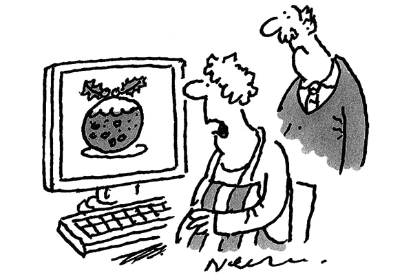 'There are bitcoins in the virtual pudding.'