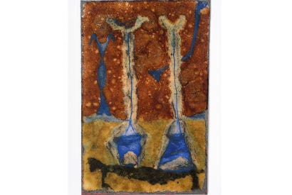 'Chalices' — a lesser known enamel work by Geoffrey Clarke, 1950