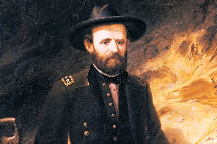 Portrait of Ulysses Grant by Ole Peter Hansen Balling