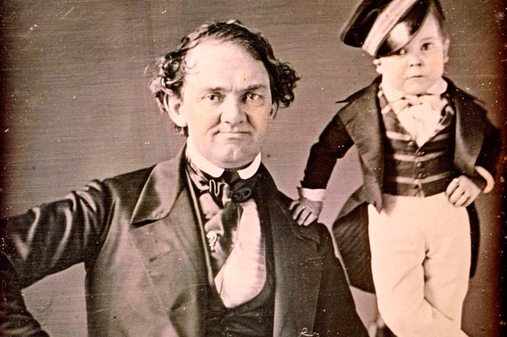 Lifelong friends: P.T. Barnum and General Tom Thumb