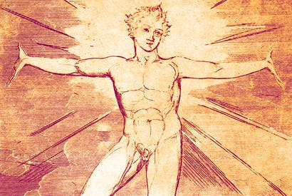 'Glad Day' by William Blake