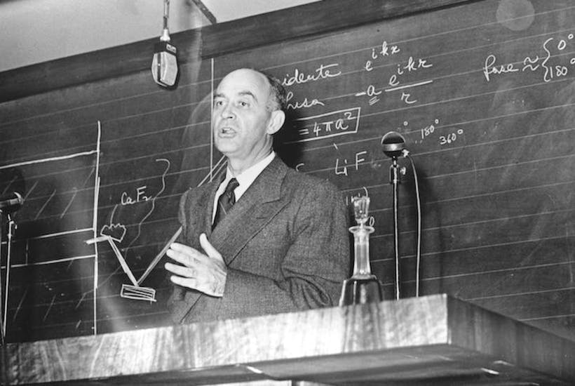 enrico fermi nuclear physicist and childish practical joker the