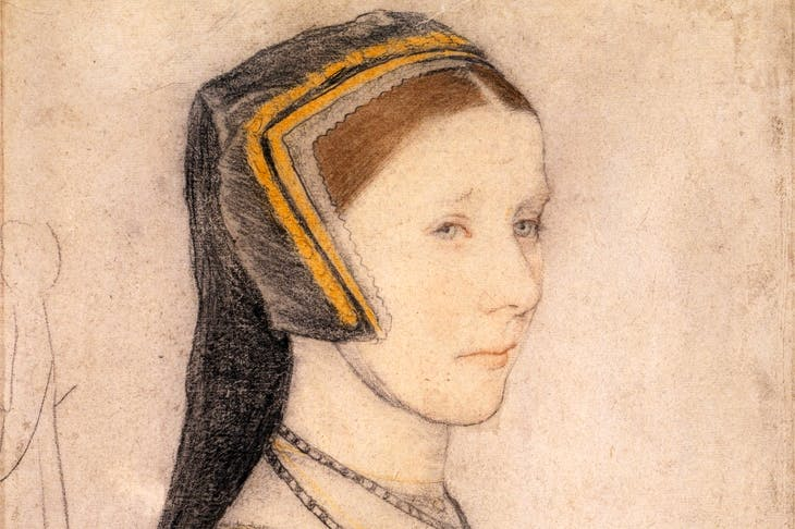 'Anne Cresacre', c.1527, by Hans Holbein the Younger