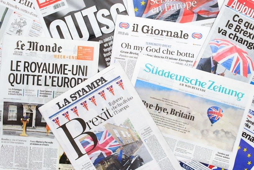 What Europeans really think about Brexit | The Spectator