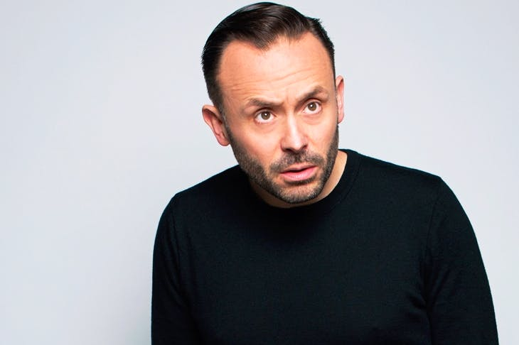 A right laugh: Geoff Norcott