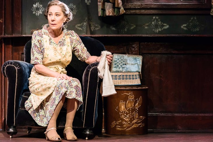 A monument of blithering stupidity: Zoë Wanamaker works wonders with Meg in The Birthday Party