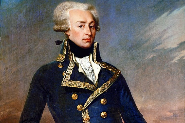 The Marquis de Lafayette was inspired to fight in the American Revolutionary War
