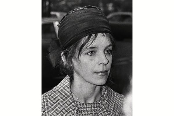 Lady Lucan, a week after the murder