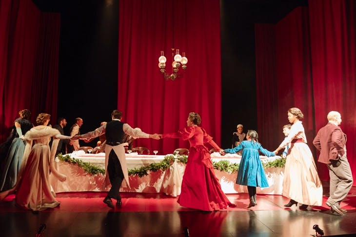 Shall we dance: the cast of Fanny & Alexander at the Old Vic