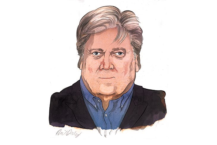 BANNON Im fascinated by Mussolini