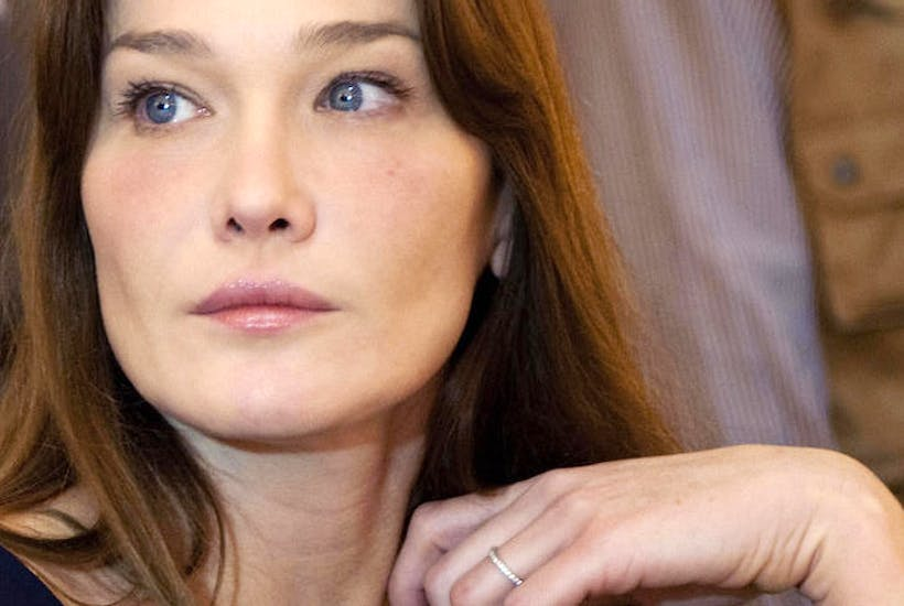 1e1b6d925c I never expected to last the full hour: Carla Bruni's C'est la Vie reviewed  | The Spectator