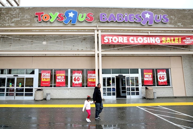 So farewell Toys 'R' Us, the predator that became the prey