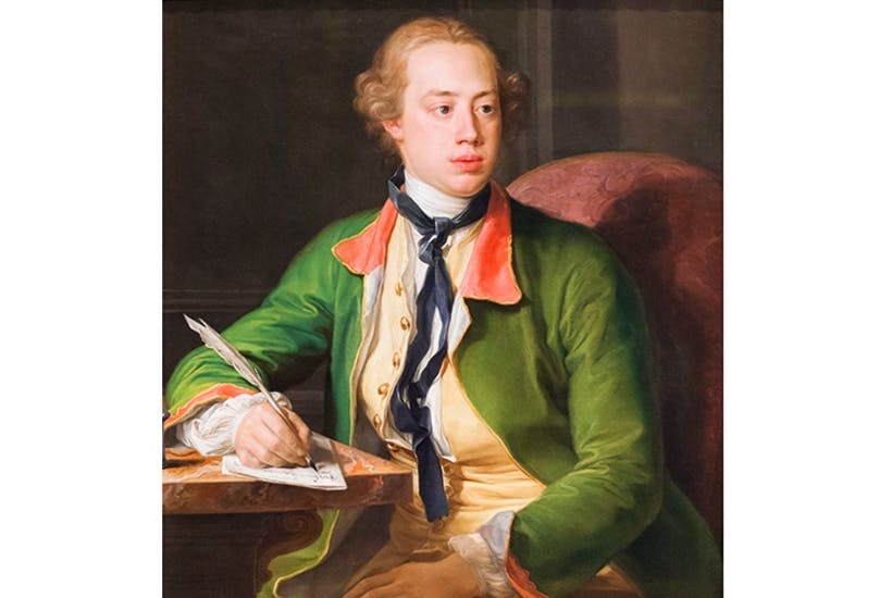 Why are there no pubs called after Lord North? Portrait of the prime minister by Batoni