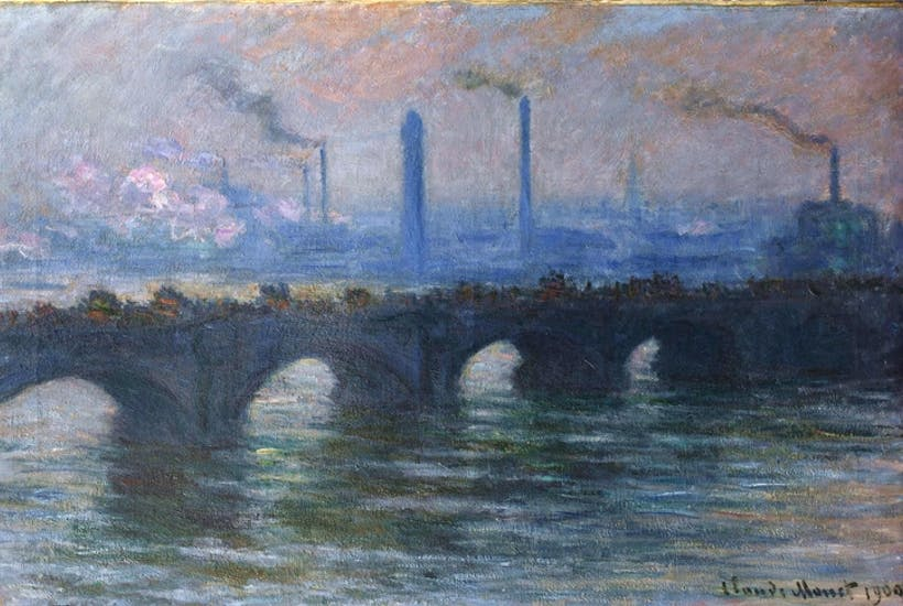 Monet Painted London Not Brick By Brick But Light By