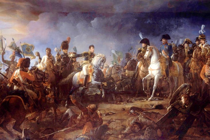 Napoleon at the Battle of Austerlitz by François Gérard