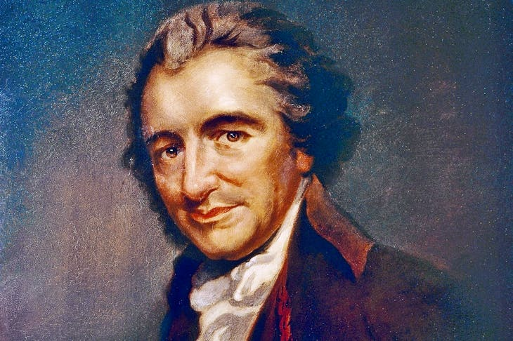 Spendthrift and slovenly, Thomas Paine was also a scrounger of epic proportions. When invited by a friend to Paris for a week, he ended up staying for five years