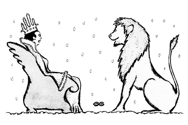 'When global warming hits, Narnia is all yours.'