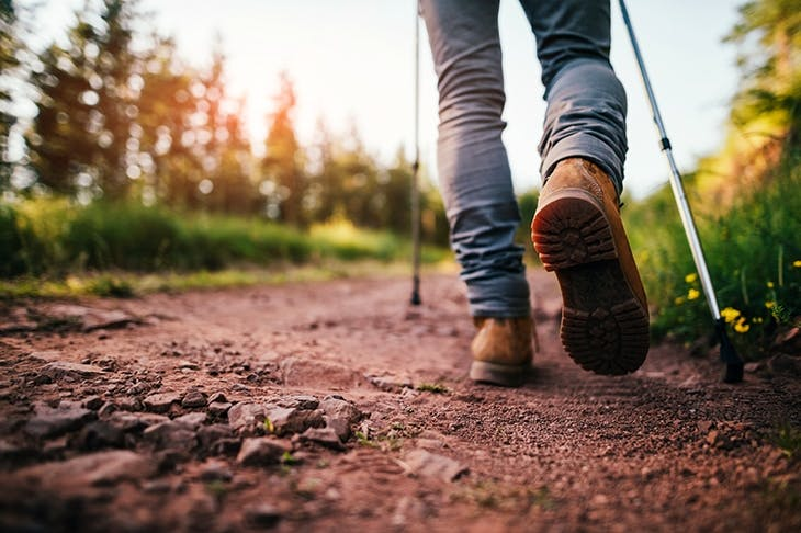 Pace and quiet: walking can be therapeutic