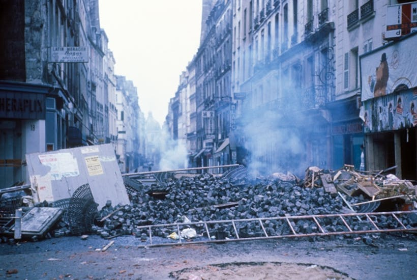 Stone Pavement In Paris : How radical was s summer of discontent the spectator