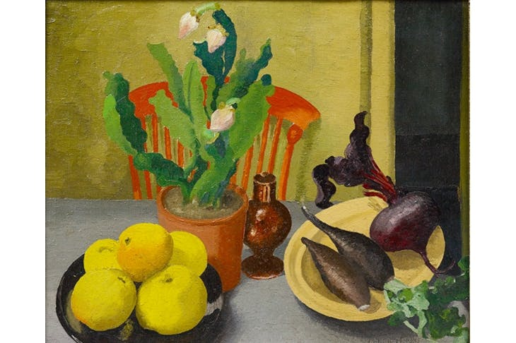 'The Orange Chair', 1944, by Cedric Morris