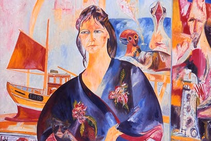Portrait of Helen by John Bellany