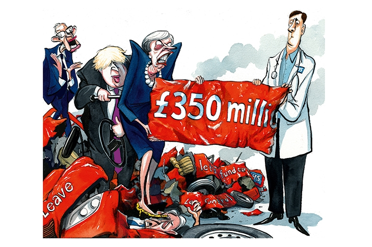 £350 million for the NHS: How the Brexit bus pledge is coming true