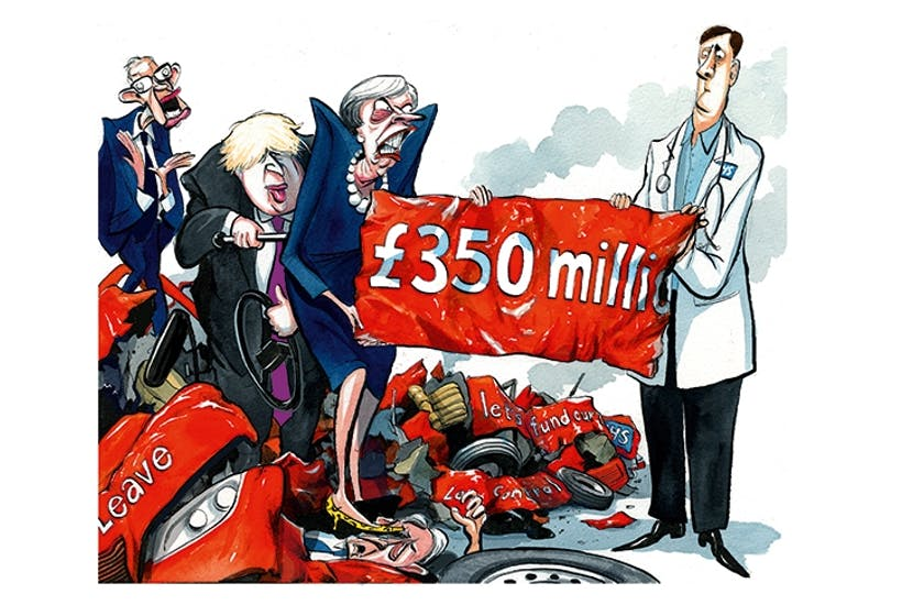 350 million for the NHS: How the Brexit bus pledge is coming
