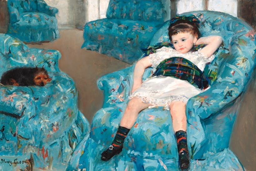 Fabulous No One Can Beat Mary Cassatt At Painting Mothers And Theyellowbook Wood Chair Design Ideas Theyellowbookinfo