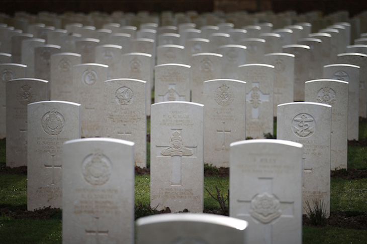 Were all those young lives lost at Normandy in vain?