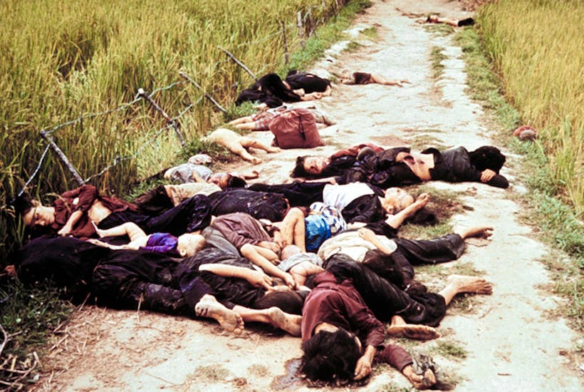 The My Lai Massacre , exposed by Seymour Hersh. Credit: Getty Images