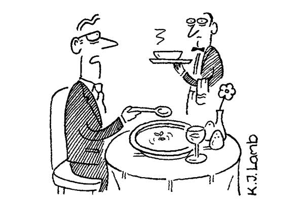 'Waiter – is the fly in my soup locally sourced?'